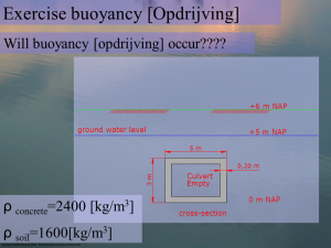 CU06997_lecture_2_Hydrostatics_exercise_buoyancy